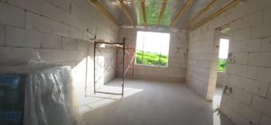 Построить дом из газобетона под ключ - вид внутри