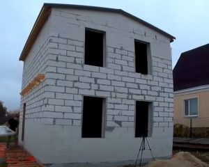 Построить дом из газобетона под ключ, недорогие цены в Тюмени